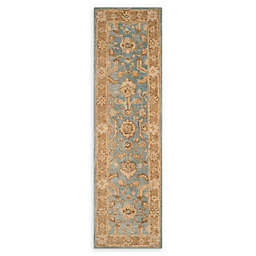 Safavieh Anatolia Nelly 2'3 x 8' Handcrafted Runner in Light Blue