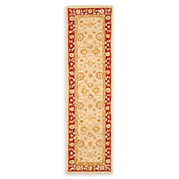 Safavieh Anatolia Cadon 2'3 x 16' Handcrafted Runner in Ivory