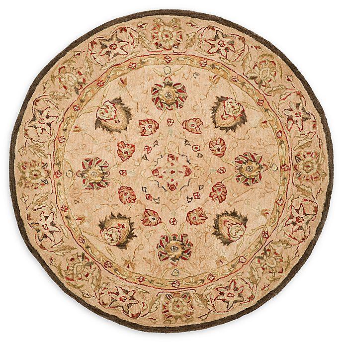 Alternate image 1 for Safavieh Anatolia 4' x 4' Paxton Rug in Beige