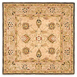 Safavieh Anatolia Paxton 8' Square Handcrafted Area Rug in Beige