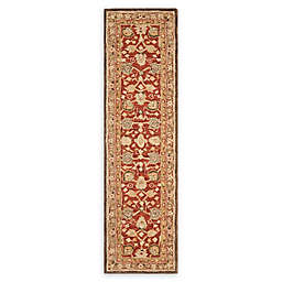 Safavieh Anatolia Paxton 2'3 x 10' Handcrafted Runner in Rustic Green