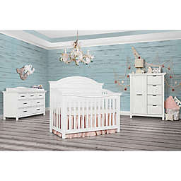 evolur™ Belmar Nursery Furniture Collection in Weathered White