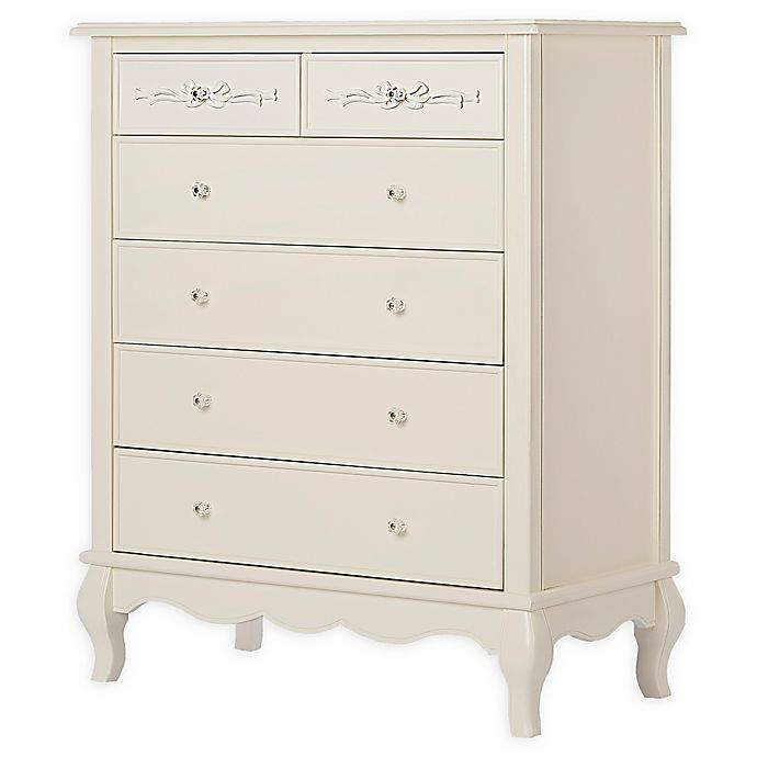 Alternate image 1 for evolur™ Aurora 6-Drawer Tall Chest
