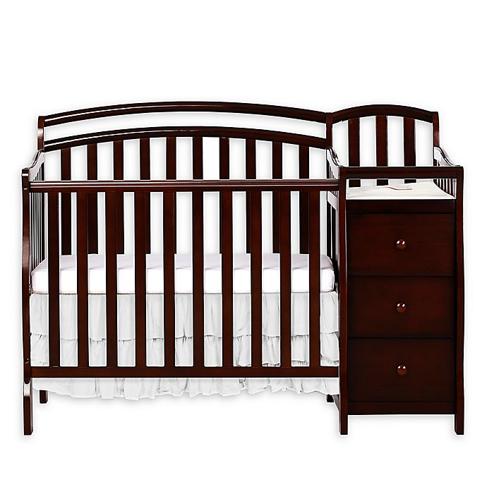 Alternate image 1 for Dream On Me Casco 3-in-1 Mini Crib and Changer