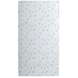 Delta Children® Gentle Stars Crib and Toddler Mattress in White