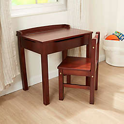 Melissa & Doug® Wooden Lift-Top Desk and Chair Set