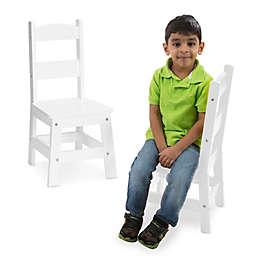 Melissa & Doug® Wooden Chairs (Set of 2)
