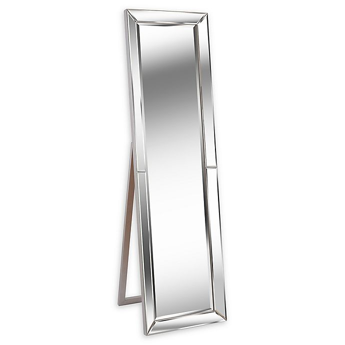 Alternate image 1 for Kenroy Home Chauncey 64-Inch x 18-Inch Rectangular Stand Mirror