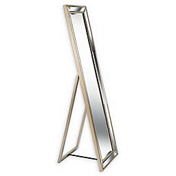 Kenroy Home Ridley Stand Mirror in Champagne