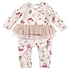 Kidding Around Size 3M Floral Print Coverall