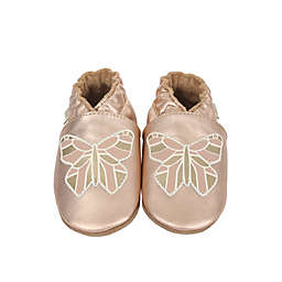 Robeez® Ava Rose Casual Shoe in Rose Gold