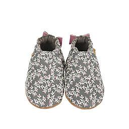 Robeez® Berry Beautiful Casual Shoe in Grey