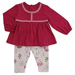 Kidding Around 2-Piece Pant Set in Pink