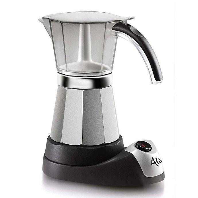Alternate image 1 for DeLonghi Alicia EMK6 Electric Moka Espresso Maker