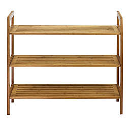 Oceanstar Design 3-Tier Bamboo Shoe Rack