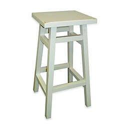 Carolina Chair & Table Company O'Malley 24-Inch Pub Counter Stool in Antique White