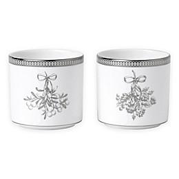 Wedgwood® Winter White Votive Candle Holders (Set of 2)
