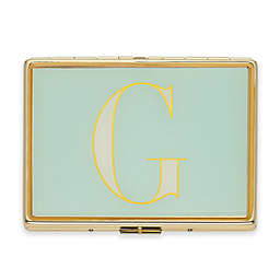 "kate spade new york Monogrammed Letter ""G"" ID Holder in Sky Blue"