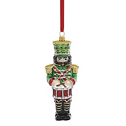 Reed & Barton Nutcracker with Drum Christmas Ornament