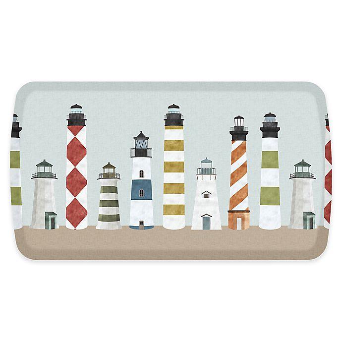 Alternate image 1 for GelPro® Elite Lighthouses 20-Inch x 36-Inch Comfort Floor Mat in Summertime