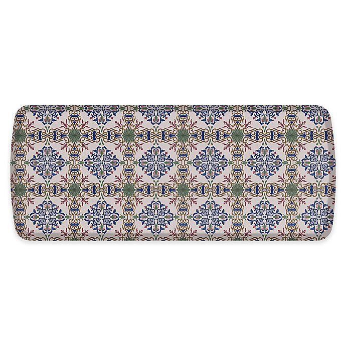 Alternate image 1 for GelPro® Elite™ Palazzo 20-Inch x 48-Inch Comfort Kitchen Mat in Indigo