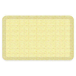 """NewLife® by GelPro® Carlyle 20"""" x 32"""" Designer Comfort Mat in Sunny"""