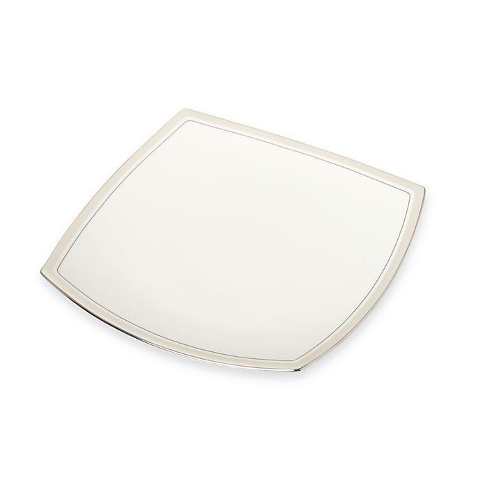 Alternate image 1 for Platinum Matrix 10 1/2-Inch Dinner Plate