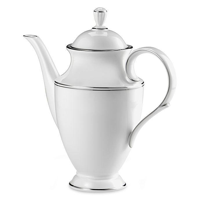 Alternate image 1 for Lenox® Federal Platinum™ Coffeepot