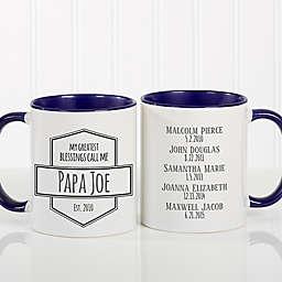 My Greatest Blessings Call Me 11 oz. Coffee Mug