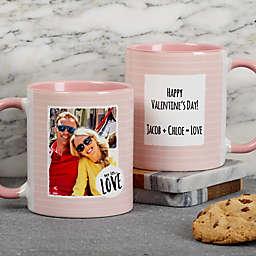 Favorite Memories Message 11 oz. Coffee Mug in Pink