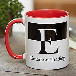 Initials 11 oz. Coffee Mug