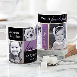 My Favorite Faces for Her 11 oz. Photo Coffee Mug in White