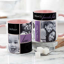 My Favorite Faces for Her 11 oz. Photo Coffee Mug