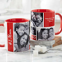 Family Love for Her 11 oz. Photo Coffee Mug in Red