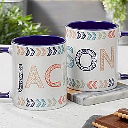 Stencil Name 11 oz. Coffee Mug