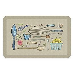 Designer Comfort Kitchen Tools Kitchen Mat in Warm Stone