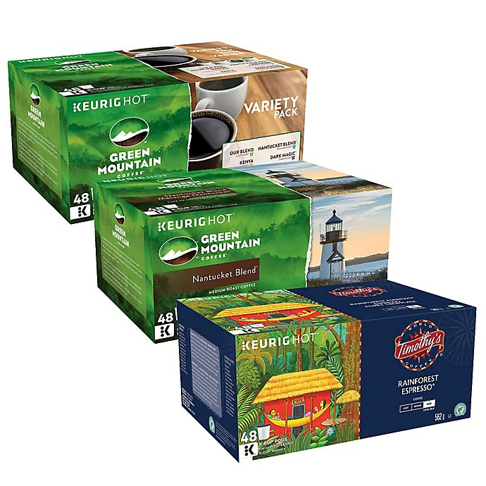 Alternate image 1 for Keurig® K-Cup® Pack Coffee Value Pack Collection