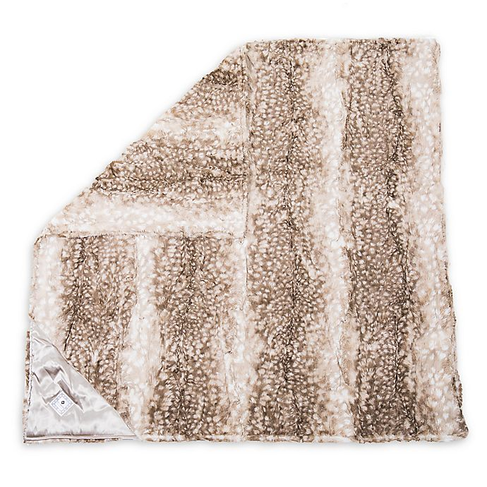 Alternate image 1 for Zalamoon Fawn Strollet Polyester Security Blanket