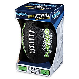 Franklin® Sports Jr. Spacelace® Playbook Football in Black/Green