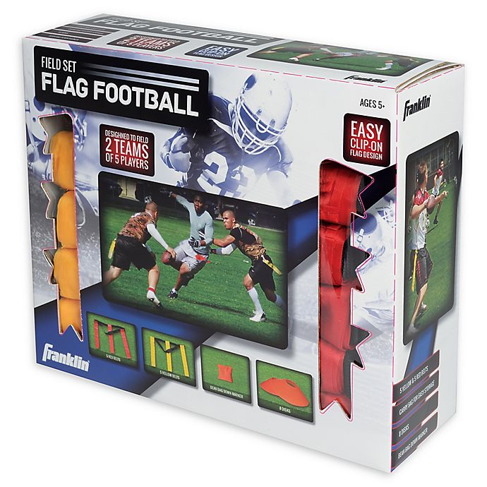 Alternate image 1 for Franklin® Sports 10-Player Youth Flag Football Set