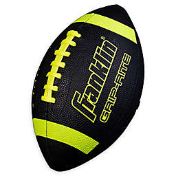 Franklin® Sports Grip-Rite Junior Football in Black/Yellow