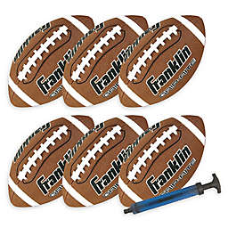 Franklin® Sports Grip-Rite Footballs (Set of 6)