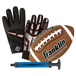 Franklin® Sports Junior Grip-Rite Football and Receiver Glove Set