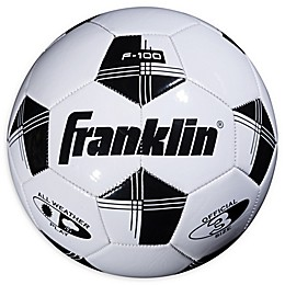 Franklin® Sports Competition 100 Soccer Ball in White/Black