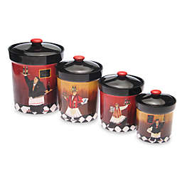 Certified International Bistro Canister (Set of 4)