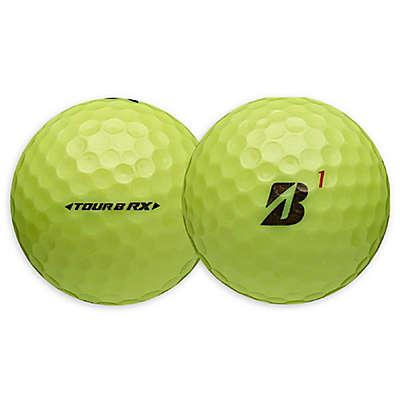 Bridgestone Tour B RX Golf Balls in Yellow (12-Pack)