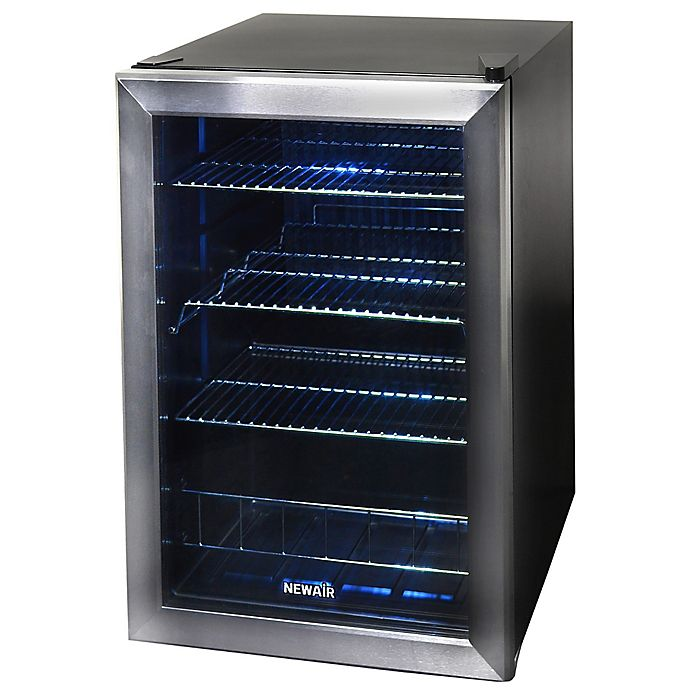 Alternate image 1 for NewAir® Stainless Steel 84-Can Beverage Center