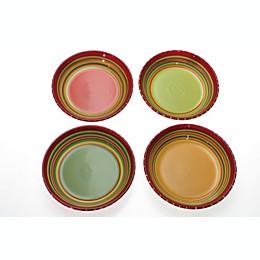 Certified International Hot Tamale Soup/Pasta Bowls (Set of 4)