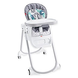 Fisher-Price® 4-in-1 Total Clean High Chair in Blue/Grey
