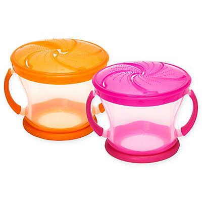 Munchkin® Snack Catcher® 9 oz. Snack Containers (Set of 2)